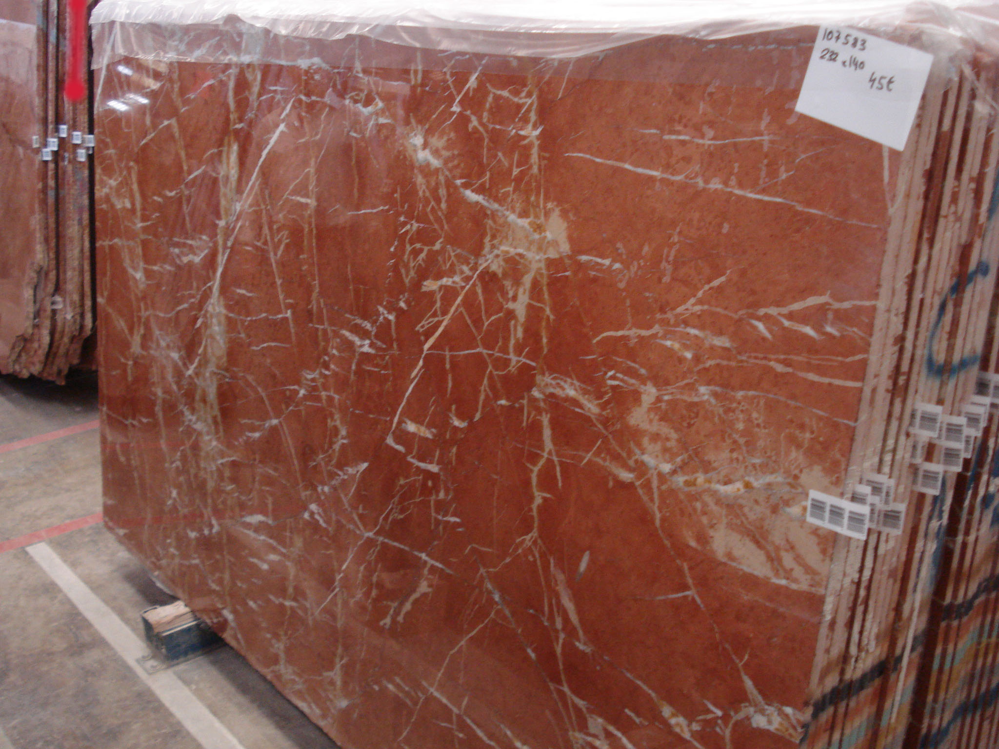 Rojo Alicante Classic Marble Product Description