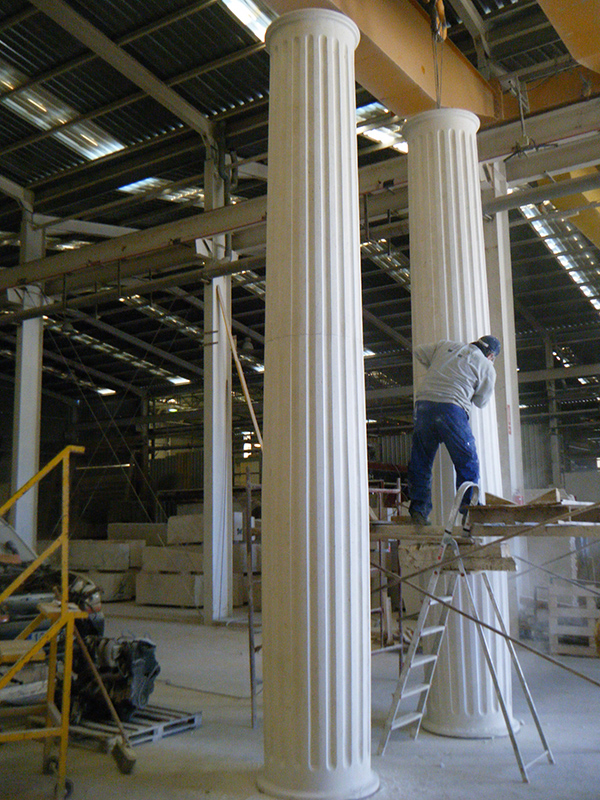 Marble and Limestone Columns Supplier